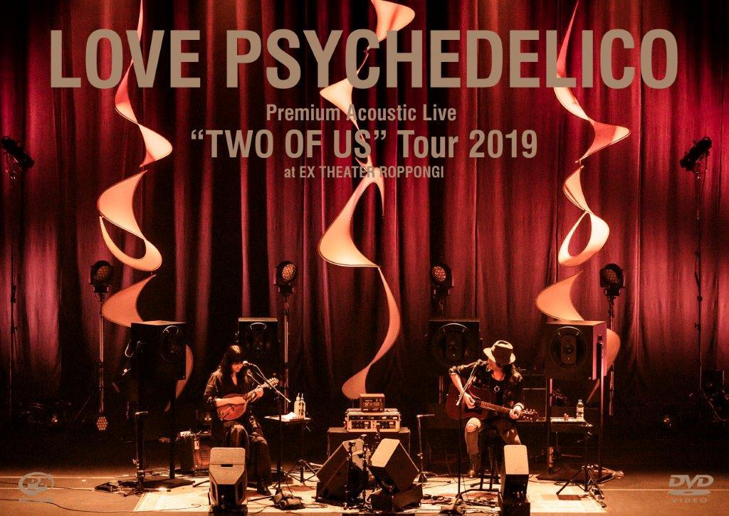 """Premium Acoustic Live """"TWO OF US"""" Tour 2019 at EX THEATER ROPPONNGI(DVD)"""